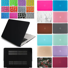 Plastic Hard Case Shell & Keyboard Cover For Apple MacBook Air 13 A1466  A1369