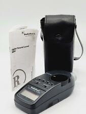 Radioshack Digital Sound Level Meter 33 2055 Case Amp Instruction Manual Preowned