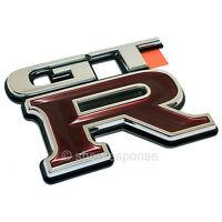 JDM Nissan 99-02 Skyline GT-R R34 Rear GTR Emblem Badge 84896-AA400 Genuine