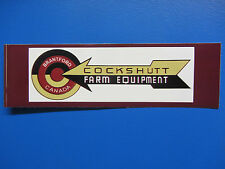 COCKSHUTT FARM EQUIPMENT LOGO Bumper Sticker/Decal