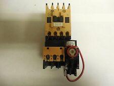 ALLEN BRADLEY STARTER 100-A12ND3 SER A 120V COIL W/193-BSA70 SER A .5-7A A AMP