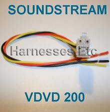 SOUNDSTREAM Wire Harness VDVD200 VDVD 200 DVD Player