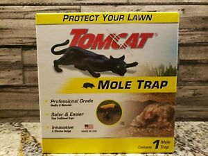 Tomcat Mole Trap - Kill Moles Without Drawing Blood to Protect Your Lawn NEW