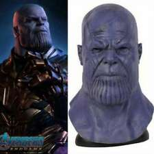 Avengers: Endgame Thanos Upgrades Cosplay Mask Props Latex Full Face Helmet