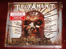 Testament: Demonic CD 2018 Nuclear Blast Records USA NB 4223-0 Digipak NEW