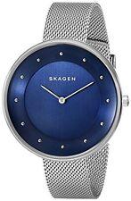 Skagen Women's Gitte Analog Display Analog Quartz Silver Watch SKW2293