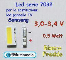 5 Led 7032 per retroilluminazione TV Samsung  3V 0,5W