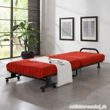 CARA Klappbett Gästebett Raumsparbett Bett 80x200 cm - Rot