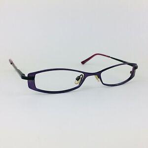 OSIRIS eyeglasses PURPLE RECTANGLE glasses frame MOD: RUBBED AWAY