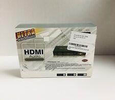 1x2 HMID 1.4 Splitter HDR HDMI Audio Extractor Converter 4K Arc EDID SPDIF L/R