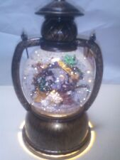 CHRISTMAS LIGHT UP ROUND  WATER BALL LANTERN NATIVITY SCENE