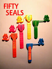 SECURITY SEALS, ANCHOR-STYLE, HIGHER-SECURITY - USE YOUR STRING or WIRE