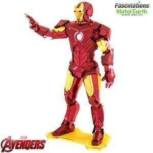 Metal Earth AVENGERS Mark IV Iron Man 3D Laser Cut DIY Model Building Kit Puzzle