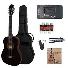 4/4 Gitarre für Linkshänder,schwarz,CK110 lefthand  SET,GT7, Tasche,Band,Zubehör