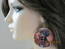 African American Earrings Black Girl Earrings African Woman Earrings Black Jewel