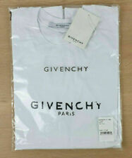 Givenchy t-shirt unisexe col rond manches courtes blanc taille S-XXL 06ed204ab67