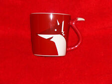(2) Two Brand New 2012 Starbucks Holiday FOX Mugs 8 oz WHAT DOES THE FOX SAY?