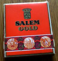 alte Zigarettenschachtel, Yenidze Salem Gold - 6 Zigaretten - Wehrmacht HK