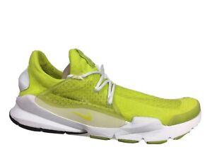Nike Sock Dart SP Volt Summit White Flyknit Fragment Design 686058-771 Men Sz 10