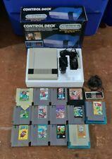 HUGE Nintendo (NES) Console Bundle LOT, 3 Controllers, 13 Games