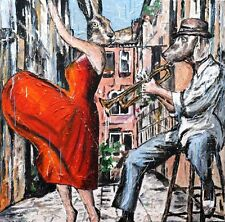 GILLIE AND MARC-direct from the artists- authentic artistic print music dance