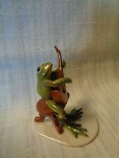 Hagen Renaker Specialty Froggie - Playing Guitar