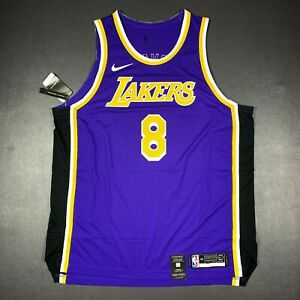 100% Authentic Kobe Bryant Nike Statement Lakers Jersey Size 56 2XL Mens