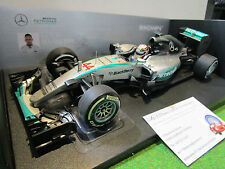 F1 MERCEDES AMG PETRONAS W06 GP AUSTRALIE 2015 au 1/18 MINICHAMPS 110150044