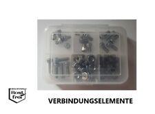 UNF Feingewinde A2 Zollschrauben Sortiment 60 Teile DIN 912 Zylinderkopf No.8-36
