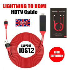 Lightning To HDMI TV Adapter Lead For Apple iPhone 11 X XR 8 7 6 Mirroring 1080p