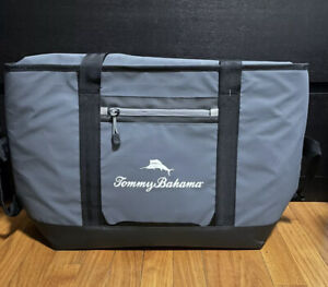 Tommy Bahama Sport Tote Insulated Cooler Holds 30 Cans 4 Strap Zipper Marlin MWT