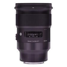 Sigma 50mm F/1.4 DG HSM Lente Arte Para Sony E