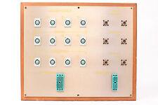 Custom Headphone/Video Patch Bay Panel 12x 4-Pin XLRF / 2x ELCO / 6x SO-239 #9