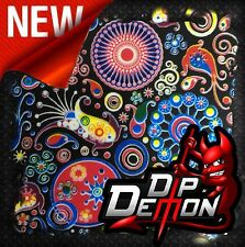 COLOR SPLASH FISH PAISLEY ETC HYDROGRAPHIC WATER TRANSFER FILM HYDRO DIPPING DIP