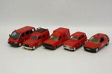 Solido SB 1/43 - Set da 5 Renault Vigili del fuoco