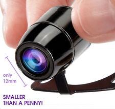 Coche cámara de marcha atrás, Kit de aparcamiento de visión trasera, visión nocturna, pequeños y resistente al agua