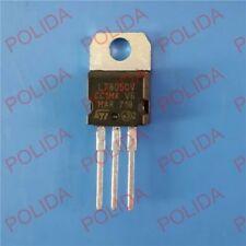 100pc Voltage Regulator IC MC7805CT 7805 5V 1A TO-220 RoHS ON *