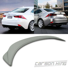 Unpainted ABS FOR LEXUS IS350 IS250 Sport F Type Rear Trunk Spoiler 2014+ New