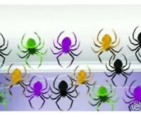 100ft Foil Halloween Spider String Decoration  Party Horror Spiders