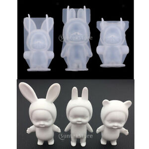 Standing Baby Silicone Fondant Cake Topper Mold Mould Chocolate Candy Baking