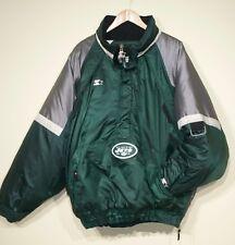 Rare Vintage 90s New York Jets Starter Pullover Jacket Mens XXL NFL
