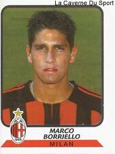 MARCO BORRIELLO ITALIA AC.MILAN STICKER CALCIATORI 2004 PANINI