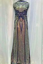 4 Ways Stretch Mesh Sequin Lace Fabric Prom Gown Dress Fabric By The Yard 51''
