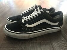 Vans Old Skool UK8.5/US9.5 Black/White