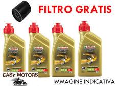 TAGLIANDO OLIO MOTORE + FILTRO OLIO HONDA XL V TRANSALP ABS 700 08/13