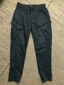 KITH Adult Mens Medium Tapered Cargo Pants Black Heavy