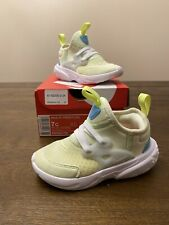 Nike RT Presto Toddler Kids Volt Size 7C