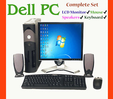 DELL GX280 Intel P4 160 GB 2.80 GHz Desktop PC with all accessories & MONITOR!