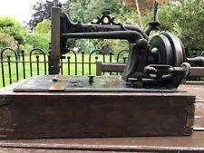 ELIAS HOWE USA Antique Sewing Machine 1872