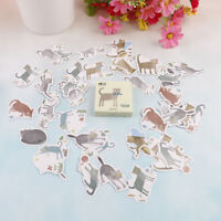 45pcs cat disease paper decor diy diary scrapbooking label sticker gN